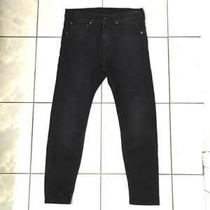 R13 Womans Drop Skinny Ankle Jeans